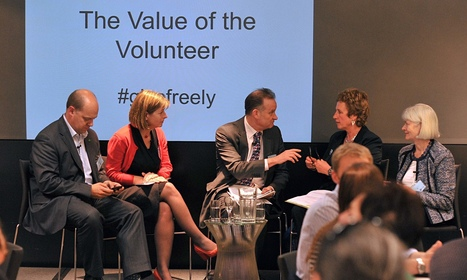 'Quality volunteers are vital and are becoming part of charity workforce'   My Can Do Networks Sx Scoops   Scoop.it