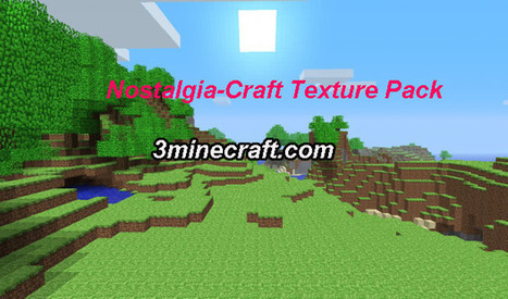 Nostalgia-Craft Resource Pack for Minecraft 1.6.3/1.6.2 | Minecraft Resource Packs 1.7.10, 1.7.2 | Scoop.it