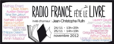 Radio France fête le livre   Radio France fête le livre   Médiathèques & numérique   Scoop.it