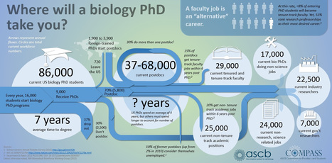 Where Will a Biology PhD Take You? | Plant Biology Teaching Resources (Higher Education) | Scoop.it
