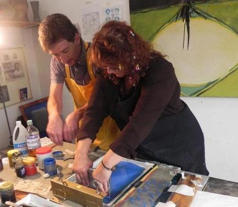 Gráfica en cerámica y vidrio: Fabricación de Calcomanías ... | Procedimiento Artístico del Vidrio | Scoop.it