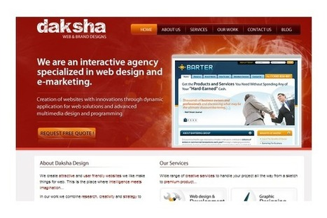 Responsive web design services in India by Daksha Design | Web Design | Scoop.it
