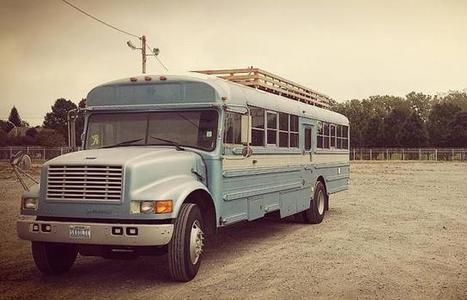 Ils transforment un bus en appartement !   L'expertise immobilière   Scoop.it