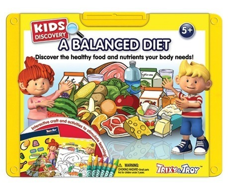 Teach Kids about balanced & nutrient diet with magic colors & fun book | Educational Toys | Scoop.it
