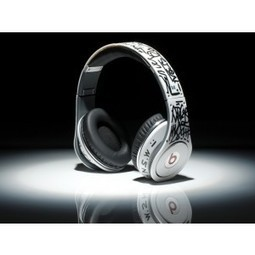 New Style Dr Dre Beats Graffiti Limited Edition Headphones White MB182 | beats by dre graffiti edition | Scoop.it