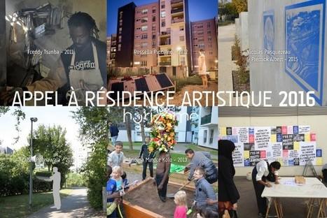 #Call - Appel a RESIDENCE ARTISTIQUE 2016   deadline 01.03.2016 - HORIZOME Association   centre d'artistes   Scoop.it