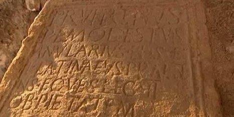 Porte des Romains à Strasbourg : découverte de la stèle d'un cavalier de la IIè Légion - France 3 Alsace | Salvete discipuli | Scoop.it