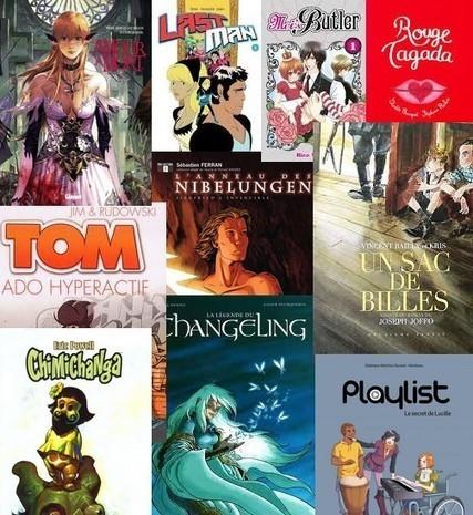 Quoi de neuf du côté des bulles : une sélection de bandes dessinées et de mangas pour les ados ! | Club lecture collège JJR | Scoop.it