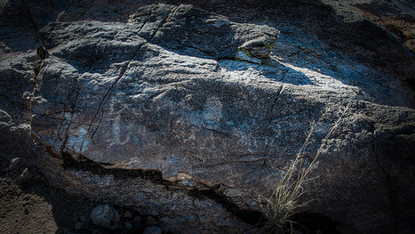 La Milagrosa Ridge Trail Pictographs | Becoming is Superior to Being | Rock Art | Scoop.it