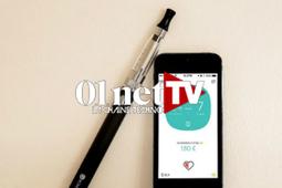 Test : vapoteuse Smokio, la cigarette électronique connectée (vidéo) - 01net   Innovation santé   Scoop.it
