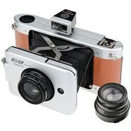 Lomography Belair X 6-12 Jetsetter Medium Format Folding Camera (Metal/Leather) 239 | Photography | Scoop.it