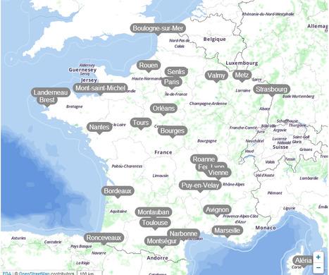 La carte de France de Lorànt Deutsch | French 3 | Scoop.it
