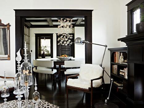 8 Reasons to Paint Your Interior Trim Black | Designing Interiors | Scoop.it