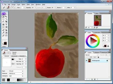 Artweaver, software gratuito para los aficionados al dibujo | Recull diari | Scoop.it