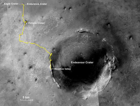 NASA's Opportunity runs marathon on Mars, only takes 11 years | Amanda Kooser | CNET | Digital Media Literacy + Cyber Arts + Performance Centers Connected to Fiber Networks | Scoop.it