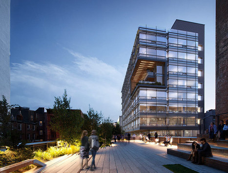 Biophilic Design at the High Line: 510 West 22nd Street by COOKFOX Architects | sustainable architecture | Scoop.it