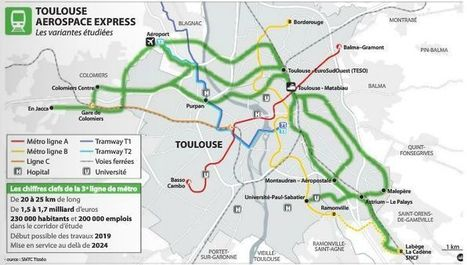Métro :  la 3e ligne  a déjà un nom | Toulouse La Ville Rose | Scoop.it