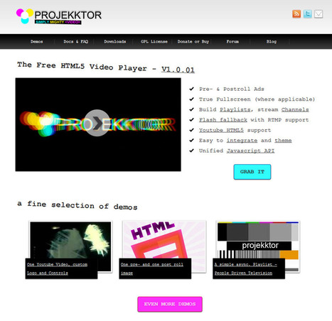 10 HTML 5 Video Players | SpyreStudios | All About Video Streaming | Scoop.it