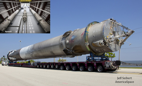 2 By Sea, 1 By Land, 3rd Recovered Booster Joins SpaceX Siblings: Up Close Gallery | Aerospace and aviation construction | Scoop.it