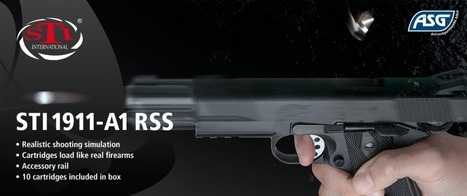 Yosser's Airsoft Odyssey: ASG STi 1911-A1 Pistol | Thumpy's 3D House of Airsoft™ @ Scoop.it | Scoop.it
