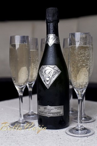 Say Cheers! Luxury Designer Alexander Amosu creates World's Most Expensive Champagne Valued at 284 Million Naira   See the Bottle   Bella Naija   Epicure : Vins, gastronomie et belles choses   Scoop.it