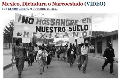 Mexico, Dictadura o Narcoestado (VIDEO) | Experiencias educativas en las aulas del siglo XXI | Scoop.it