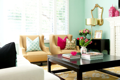 Invite Spring in your house – decorating tips for a flowery mood! - 13 April 2016 - My Crazy Home - My Crazy Home | Home improvement | Scoop.it