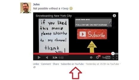 Facebook Testing 'Subscribe On YouTube' Links? - AllFacebook | Social Media Director | Scoop.it