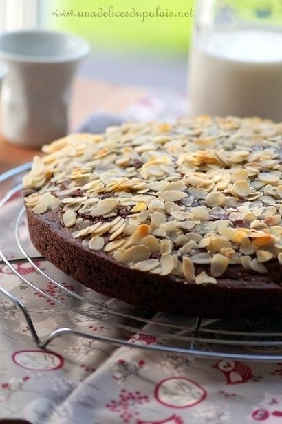 Gâteau moelleux au chocolat sans œufs | Recette Dessert Gâteau & Cake | Scoop.it