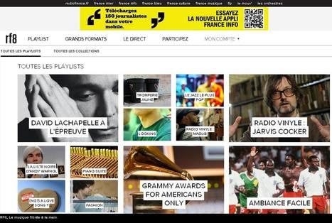 RF8, le site Radio France de toutes les musiques | music innovation | Scoop.it
