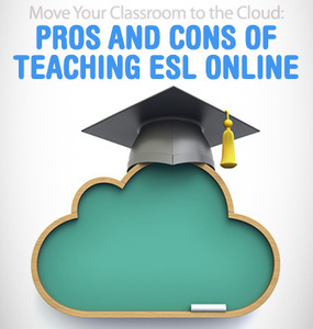 Move Your Classroom to the Cloud: Pros and Cons of Teaching ESL Online | Monya's List of ESL, EFL & ESOL Resources | Scoop.it