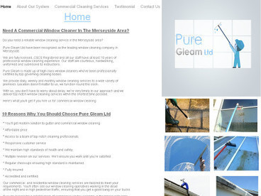 Commercial Window Cleaning-Benefits of using The Reach and Wash System   Pure Gleam   Scoop.it