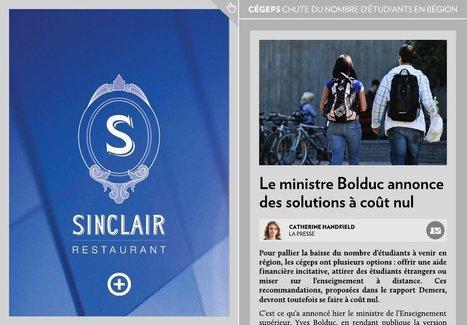 Québec annonce des solutions à coût nul - La Presse+ | Didactique et Enseignement | Scoop.it