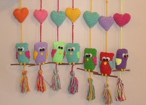 lechuzas-buhostejidos-crochet-para-la-suerte-4935-MLA3951970078_032013-F.jpg (800x574 pixels)   Tejido al crochet   Scoop.it