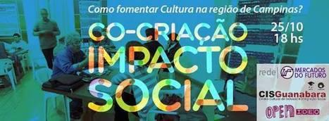 2o Encontro de Co-Criação para Impacto Social: Como fomentar Cultura na Região de Campinas | Facebook | cocriação | Scoop.it