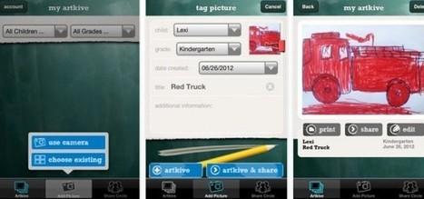 artkive, para guardar los dibujos que nuestros hijos hacen en la escuela [iOS] | hacer | Scoop.it