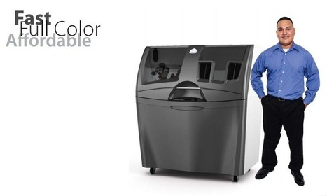 3D Systems Unveils Next Gen Full Color 3D Printers | 3D printing topics | Scoop.it
