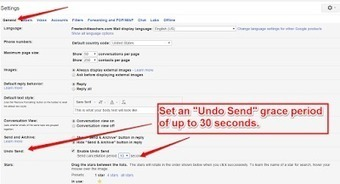 """Free Technology for Teachers: Set an """"Undo Send"""" Grace Period in Your Gmail Account 