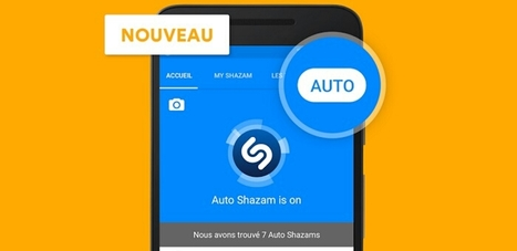 L'Auto Shazam vous permet d'identifier toute une playlist | A Kind Of Music Story | Scoop.it