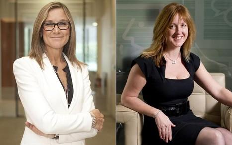 The two women left running FTSE 100 companies - Telegraph   Unit 1 Business Studies   Scoop.it