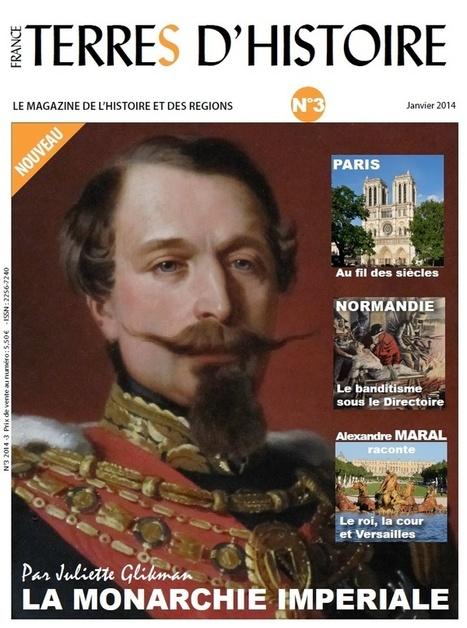 France Terres d'Histoire n° 3 est sorti !!! | L'Histoire avec Histoire Multimédi@ Production. | Scoop.it