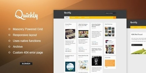 Quickly - Responsive Blogger Template Free Download - GuidePedia | www.guidepedia.info | Scoop.it