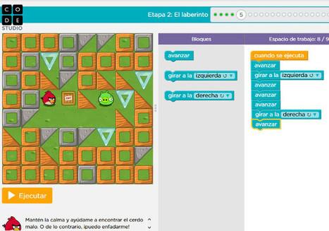 Los 11 cursos gratuitos para que los niños aprendan a programar en verano | LabTIC - Tecnología y Educación | Scoop.it