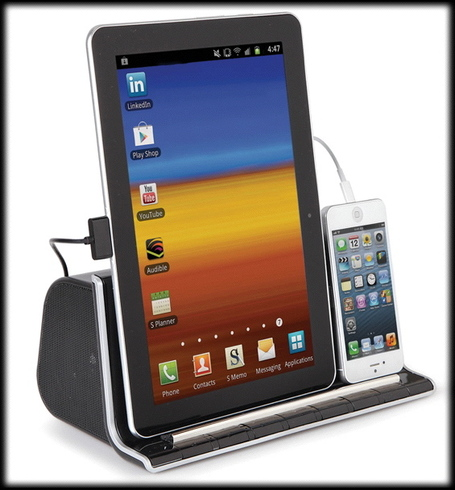 The Smartphone And Tablet Charging Speaker Dock | TechGadgetry | Scoop.it