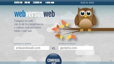 WebversusWeb. Comparez votre site à celui d'un concurrent | WebMarketing | Scoop.it