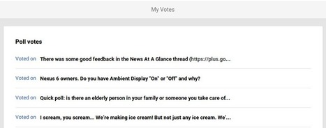 Manage your poll votes in Google+ Settings | Google+ ( Google Plus ) for Small Business | Scoop.it