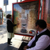 Homecenter Sodimac turns a bus shelter into a heating post to promote its home improvement products | Mobility & Trends | QR Code - NFC Marketing | Scoop.it