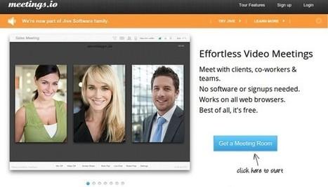 Otras 5 sencillas aplicaciones para videoconferencias y reuniones online | Innovación,Tecnología y Redes sociales | Scoop.it