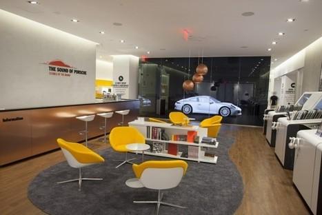 Porsche : boutique éphémère et sensorielle aux USA - Sport Auto | Pop-up shop, concept-store, new forms of retail | Scoop.it