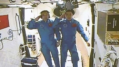 China's Shenzhou 11 docks at Tiangong 2 space station - BBC News | More Commercial Space News | Scoop.it